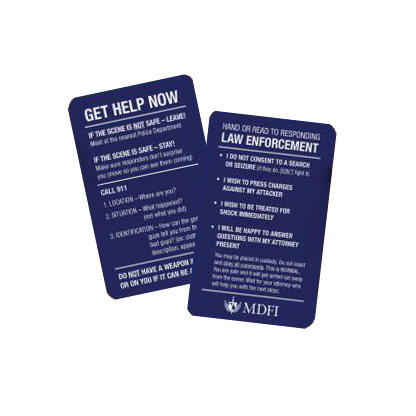 Emergency After Action Card