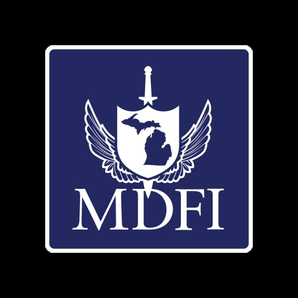 MDFI Square Sticker